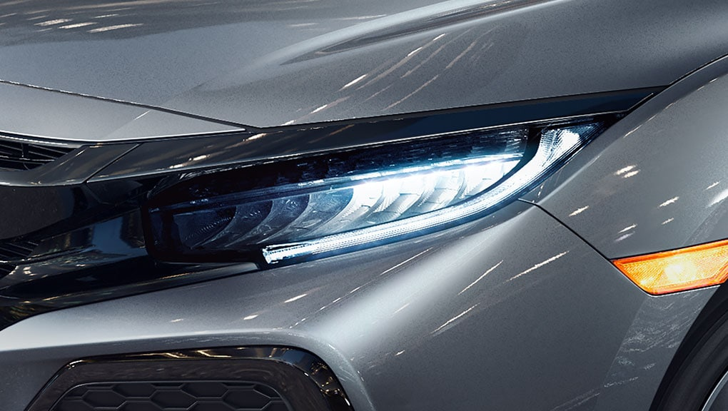 Image of 2017 Civic Hatchback LED headlights