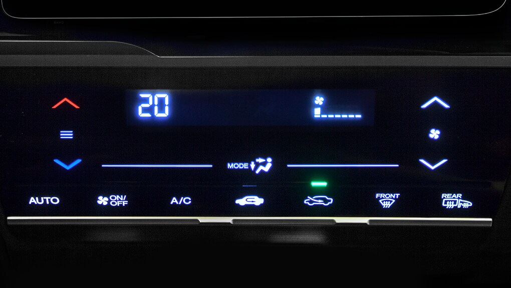 Image of 2018 Honda Fit automatic climate control