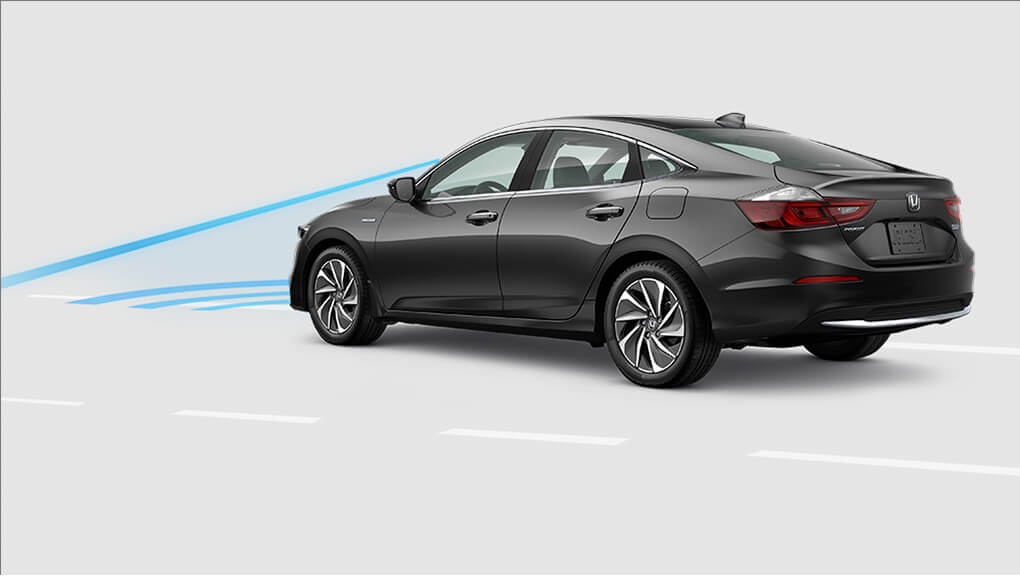 2020 Honda Insight Collision Mitigating Braking System demo