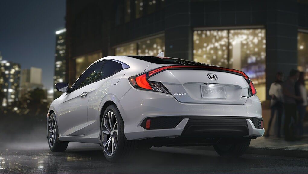 Image of 2018 Civic Coupe paddle shifters