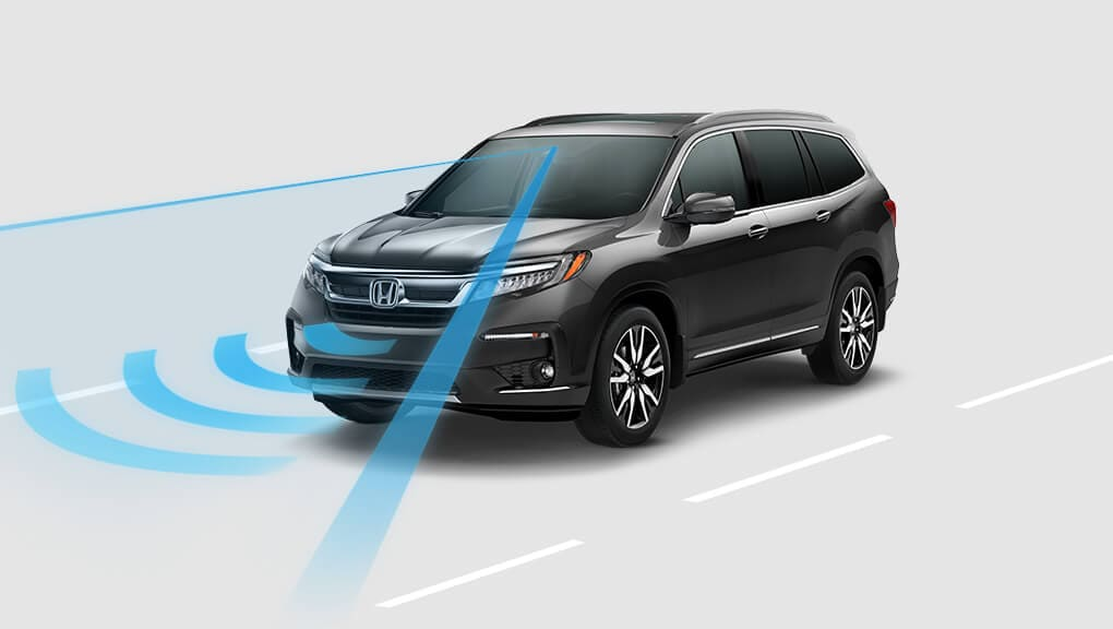 2018 Honda Pilot Lane Keeping Assist System