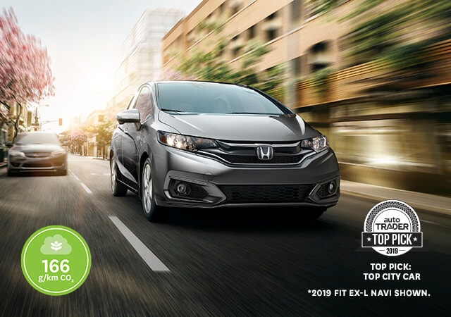 Image of grey 2019 Honda Fit