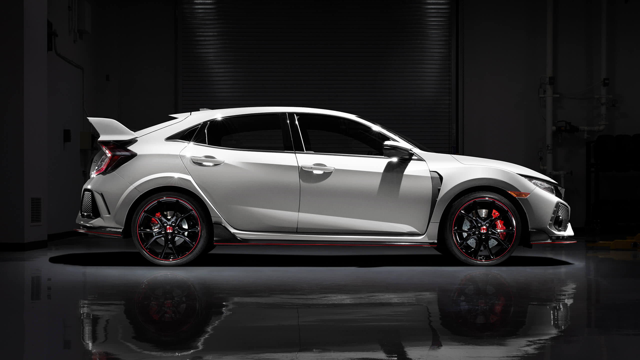 White 2018 Civic Type R Side Profile. Download. Black ...
