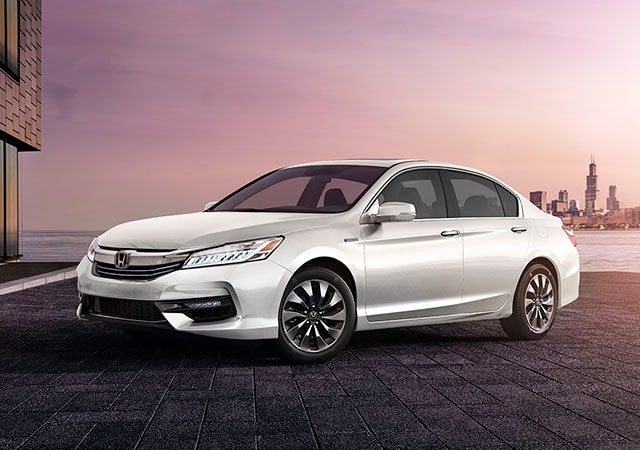 Image of Accord Hybrid front end