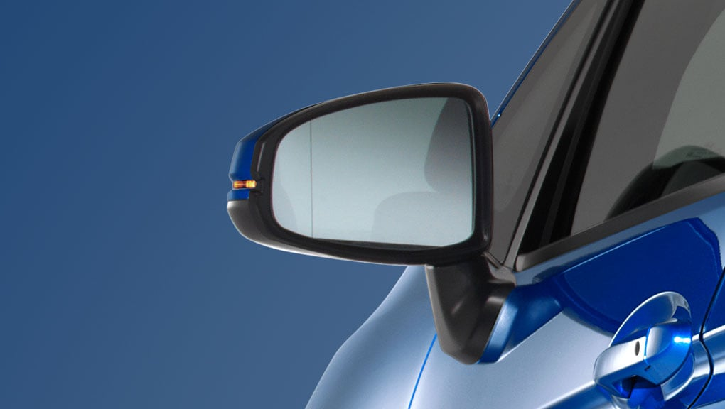 Image of 2016 Fit Manual folding side mirrors