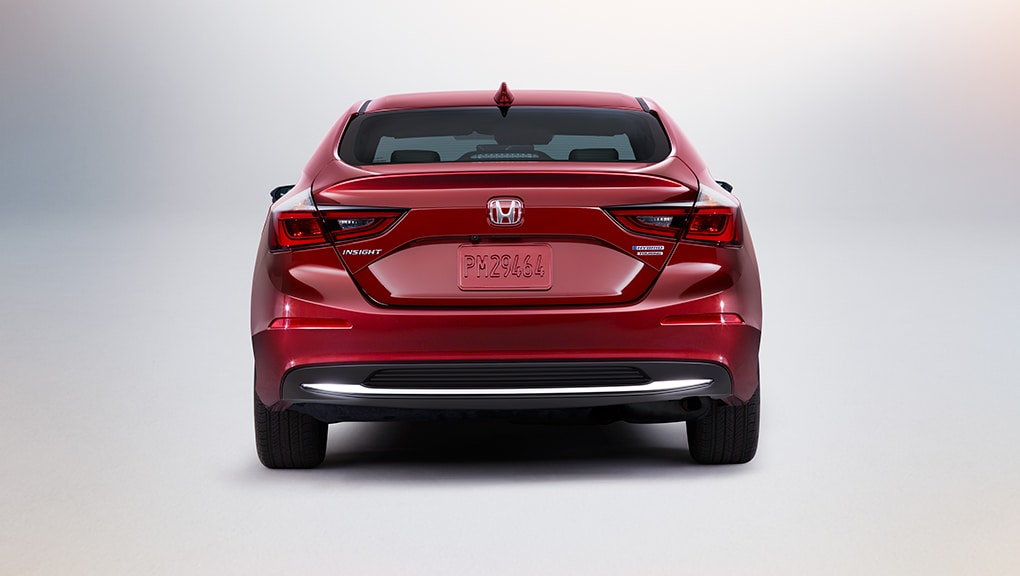 Red 2020 Honda Insight rear bumper