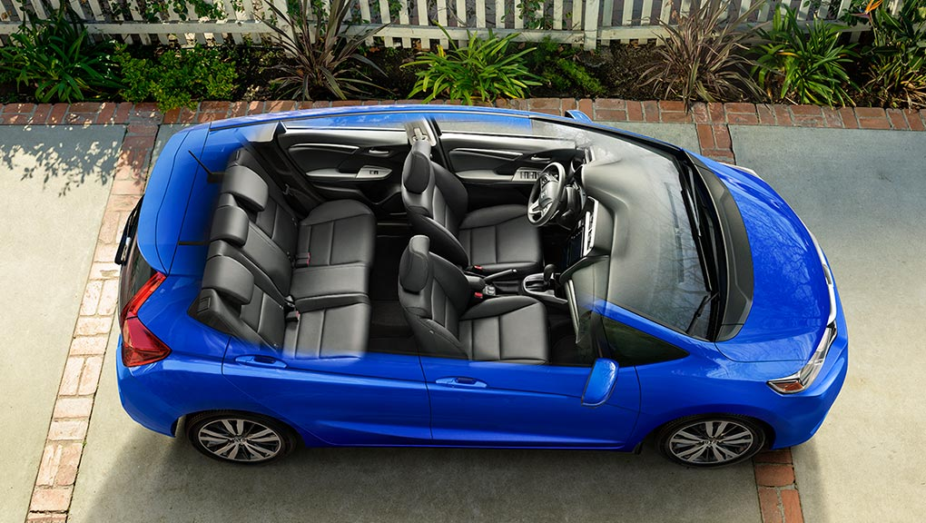 Image of 2019 Honda Fit versatility