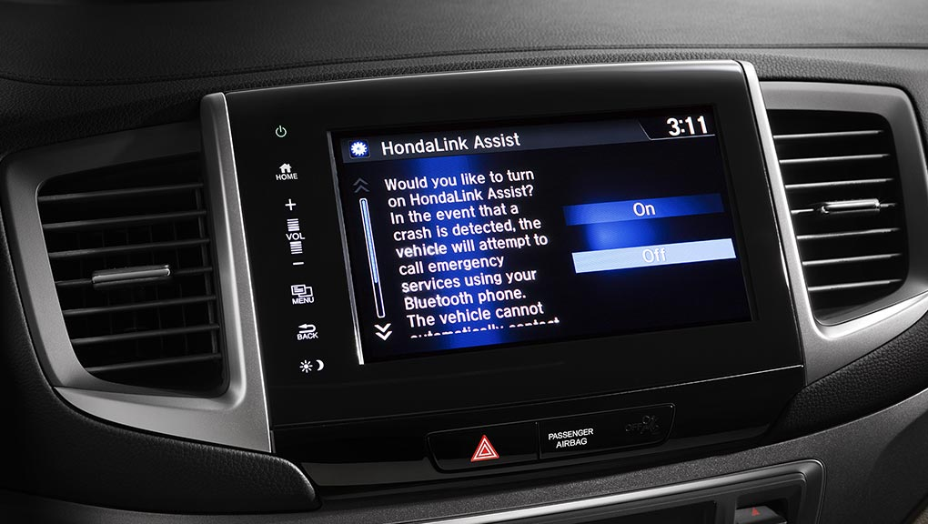 Image of 2017 Honda Pilot HondaLink Assist Automatic Emergency Response System
