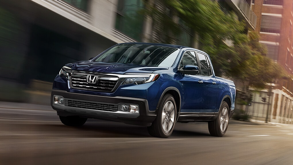 Image of 2019 Ridgeline front view