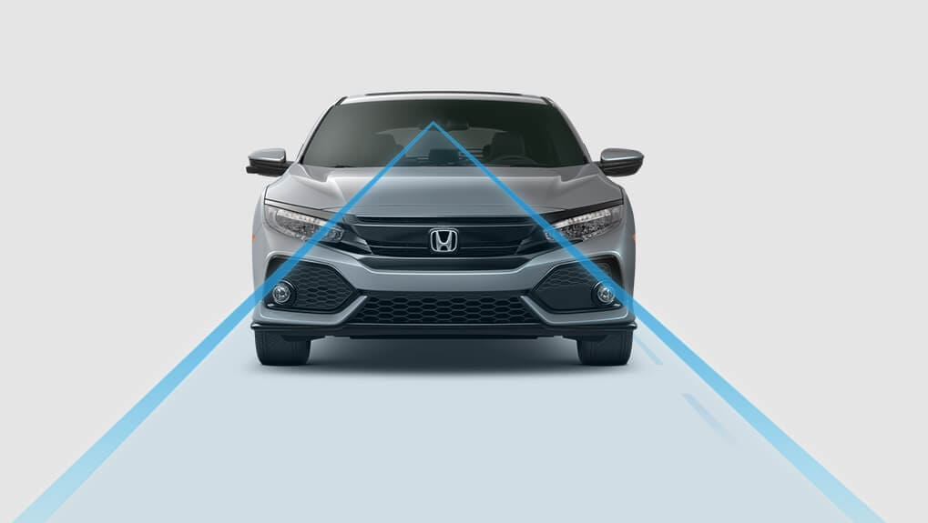 Image of 2017 Civic Hatchback Lane Keeping Assist System
