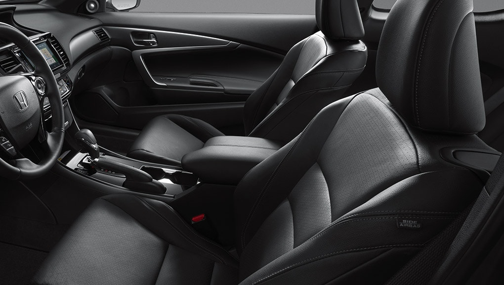 Image of Accord Hybrid seat belt safety.