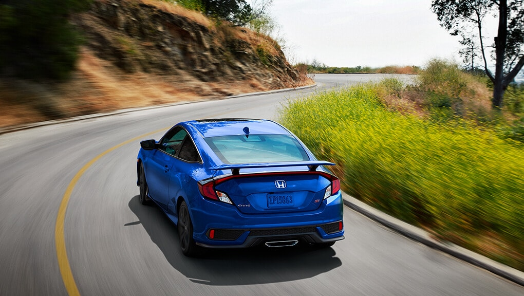2018 Civic Coupe Si Adaptive Damper System.