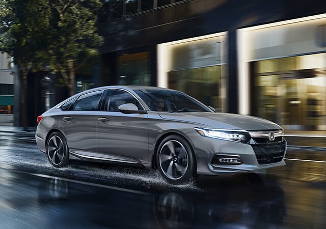 Image of 2019 Honda Accord on city street