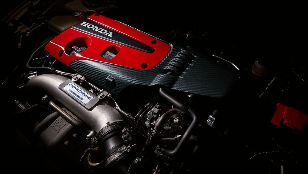 Image of 2017 Civic Type R 2.0-litre VTEC TURBO engine