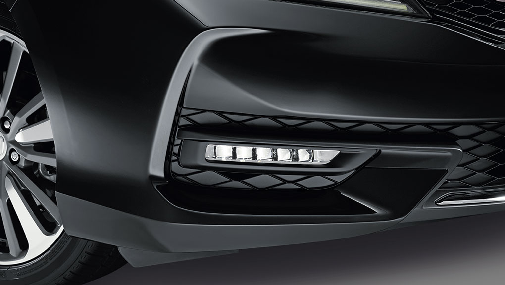Image of the available LED fog lights