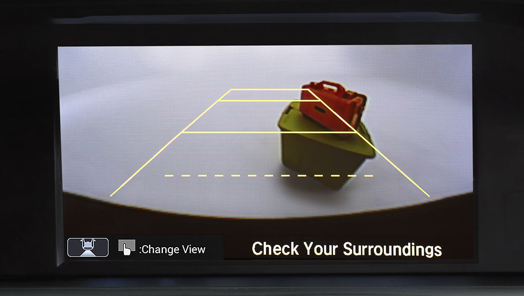 Image of Accord Sedan multi-angle rearview camera
