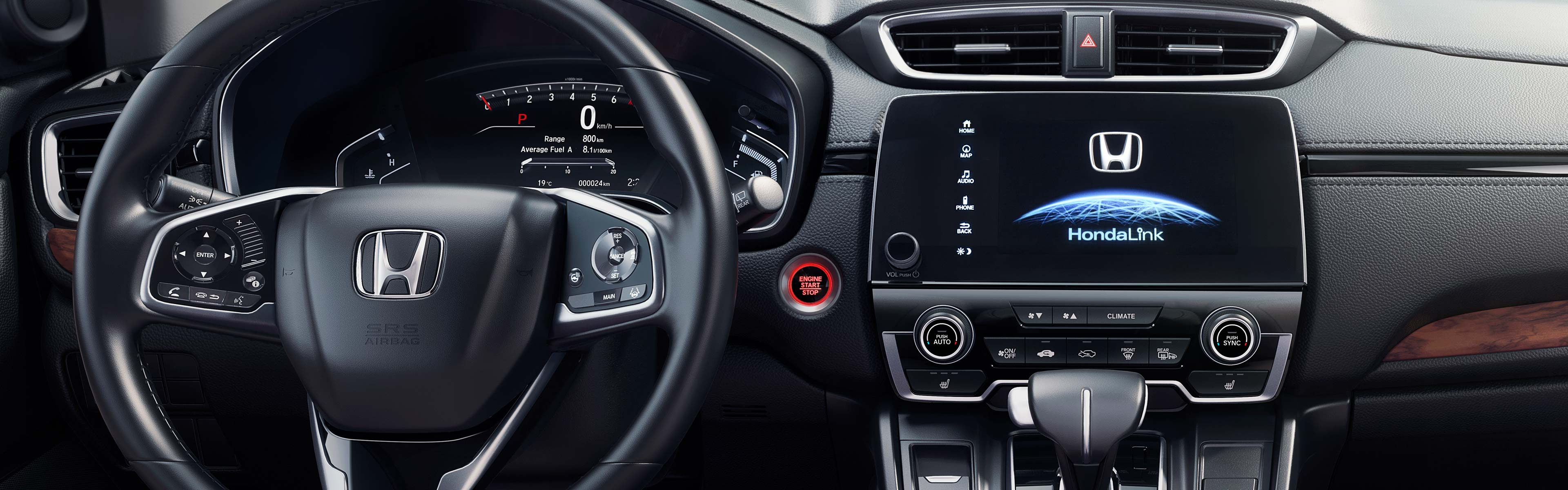 Interior | 2017 CR-V | Honda Canada