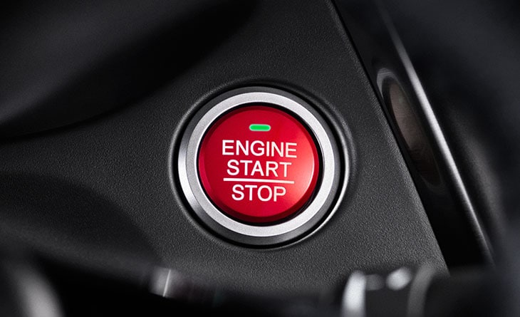 Honda Civic Push Button Start