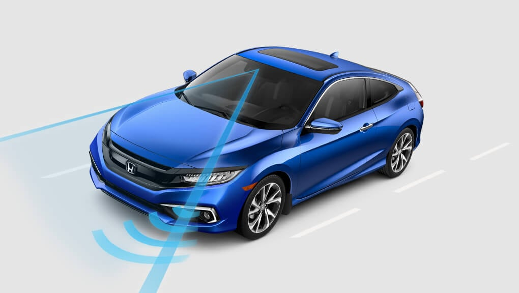2018 Civic Coupe Forward Collision Warning
