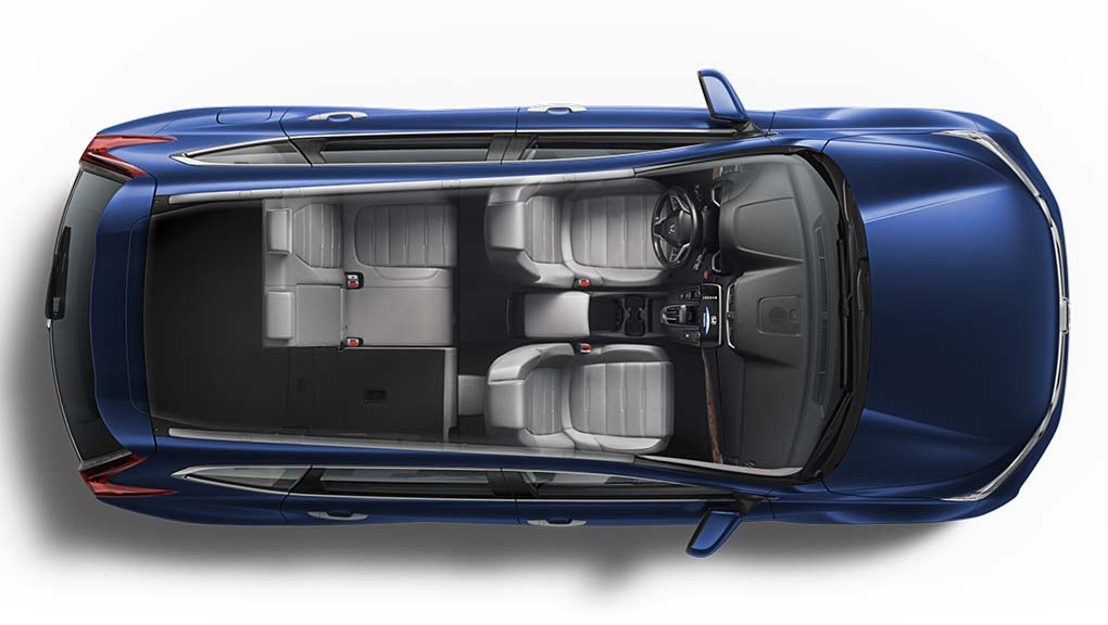 Image of 2017 CR-V 60/40 fold down rear seat