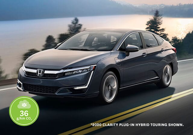 2020 Honda Clarity driving