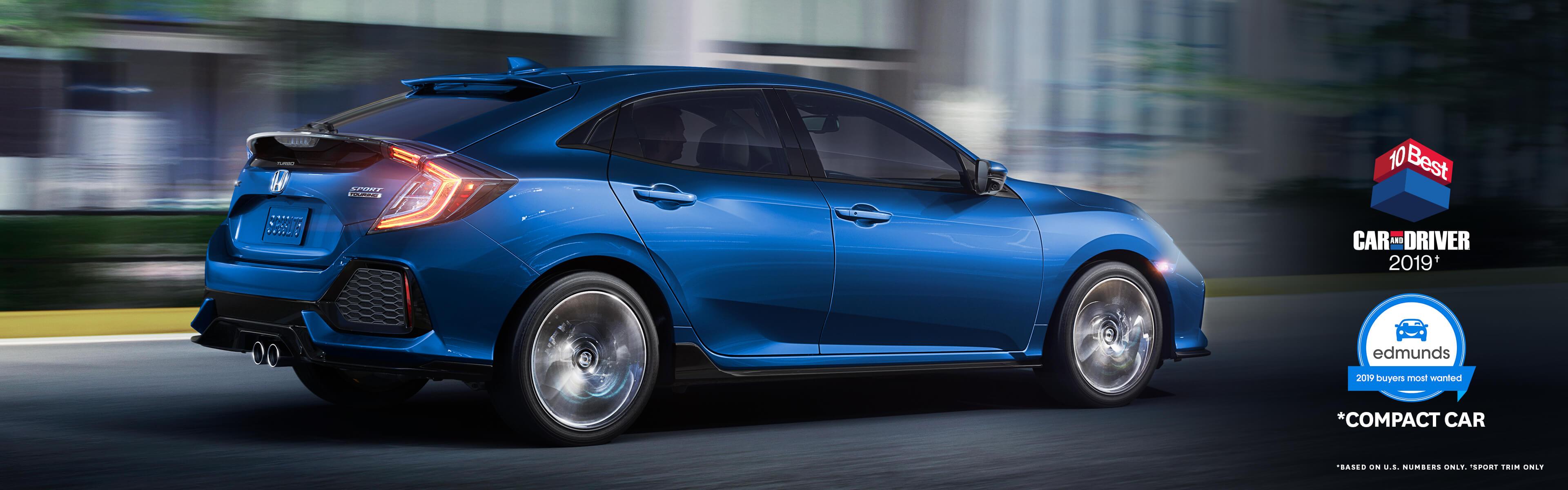 The 2019 Civic Hatchback Honda Canada