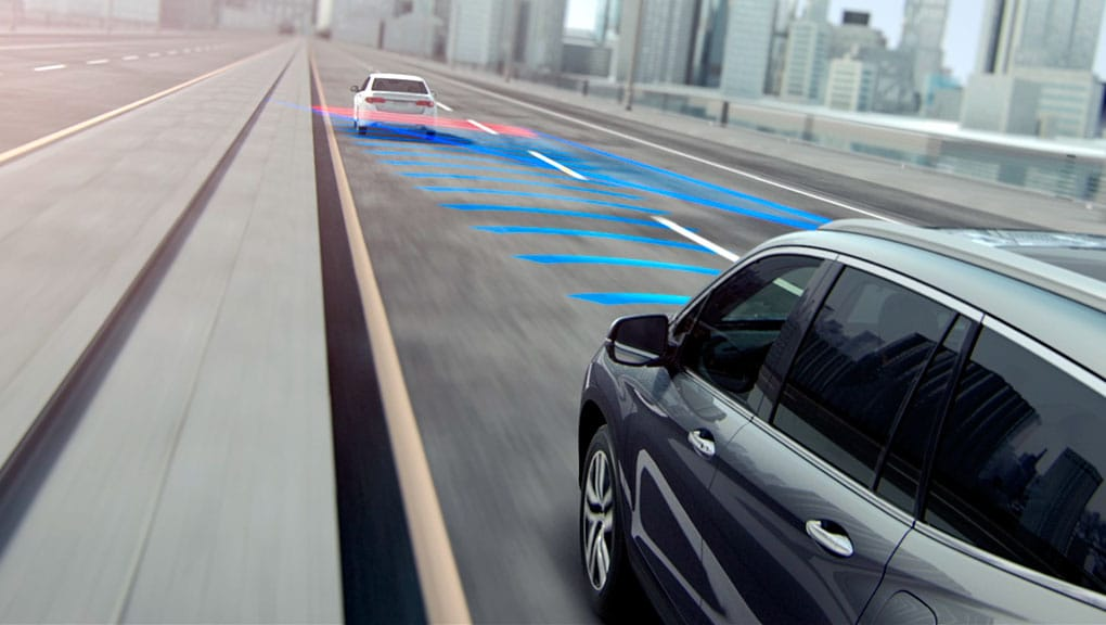 Image of Forward Collision Warning (FCW) system
