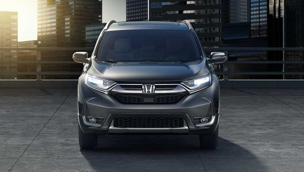 Image of 2018 CR-V LED headlights