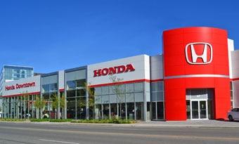 Honda downtown in toronto ontario canada honda for Honda dealer locations